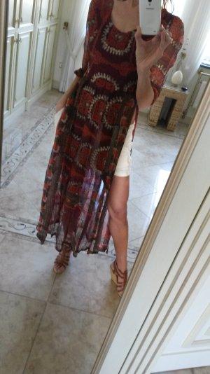 Schönes langes Kleid/Überzieher Hippie Style!
