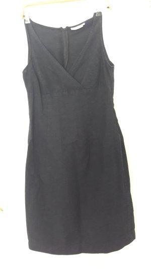 Schönes Leinenkleid in schwarz