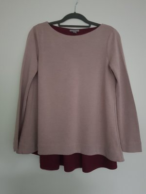COS Shirt blackberry-red-dusky pink