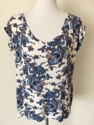 schönes luftiges buntes Shirt mit Blumenmuster von Aniston- Gr. 40/M