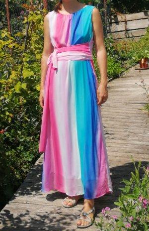 schönes Maxikleid Abendkleid Farbverlauf Gr. 38
