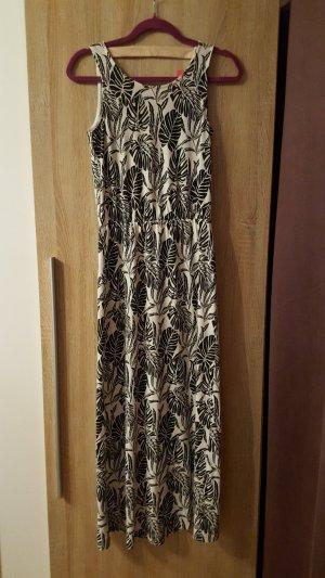 Schönes Maxikleid/langes Kleid Vero Moda schwarz-weiß