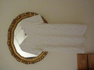 Schönes neues Sommerkleid in Weiß mit Futter,  Made in Germany, D36-38