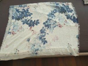 schönes neues Tuch weiß/blau