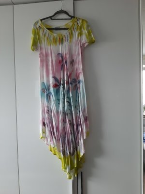 Robe de plage multicolore