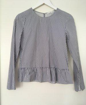 Schönes Oberteil/ Bluse mit Volant-Saum von Mango