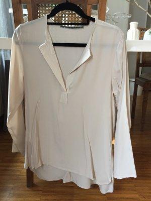 Angela Davis Transparante blouse veelkleurig