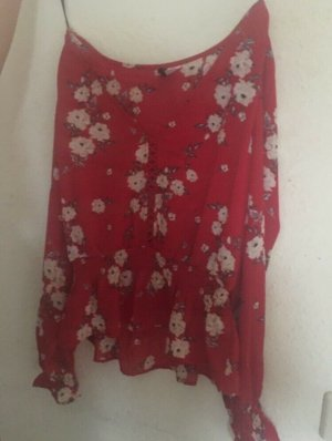 H&M Blouse Top red