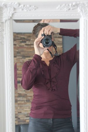 Aniston Long Shirt dark violet