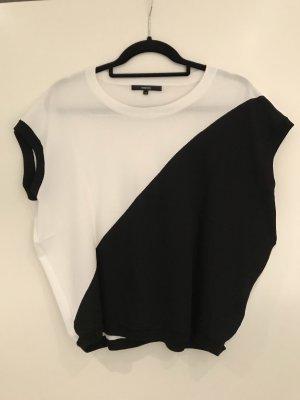 someday Top lavorato a maglia nero-bianco