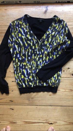 COS Jersey con cuello de pico multicolor