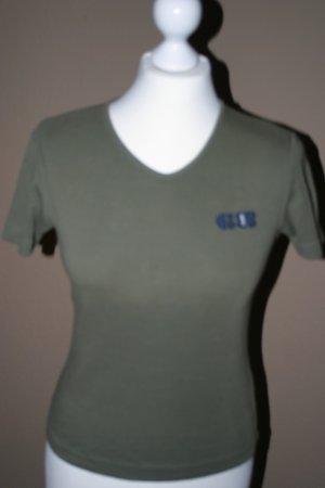 Schönes olivfarbenes ESPRIT T-shirt in Gr. S