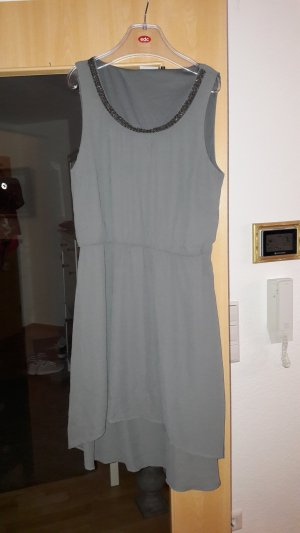 Only High Low Dress grey polyester