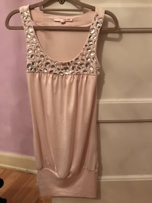 Schönes Party Long top \mini Kleid