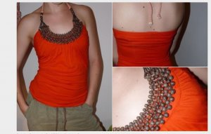 Halter Top multicolored
