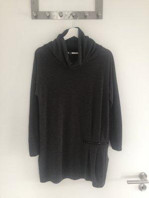 schönes Please Kleid - Wollkleid - Größe S - guter Zustand - dunkelgrau - grau
