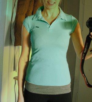Schönes Poloshirt Hellblau Zara Gr. 36 S #Zara
