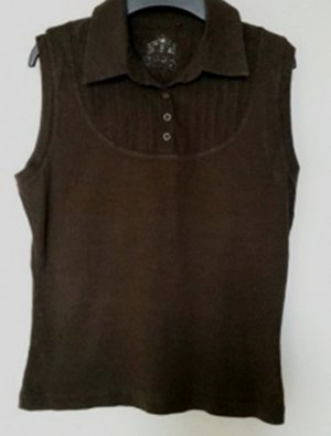 Esprit Polo marrone scuro