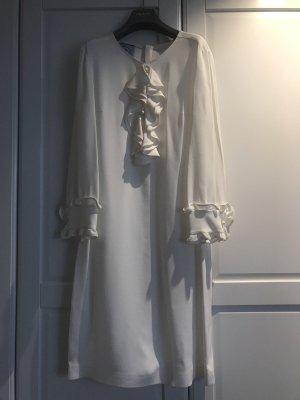 Schönes Prada Kleid in Creme/weiß Größe 34
