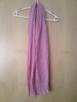 Neckerchief neon pink cotton