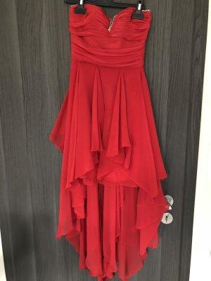 Vestido mullet rojo