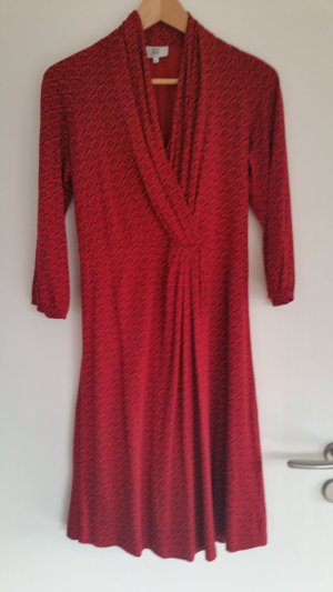 Schönes rotes Jersey Kleid mit zartem Muster von Noa Noa