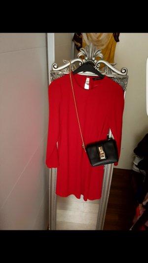 Schönes Rotes Kleid # Zara