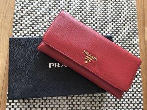 Schönes,rotes PRADA Portemonnaie