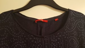 Schönes S.Oliver 3/4 Arm Shirt, dunkelblau, Gr. XXL