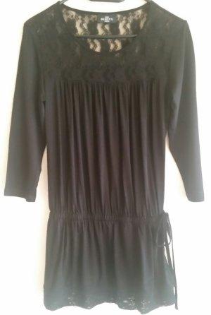 Schönes schwarzes Gina Benotti Shirt mit Spitze Gr. S