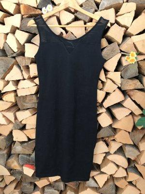schönes schwarzes Jerseykleid (neu)