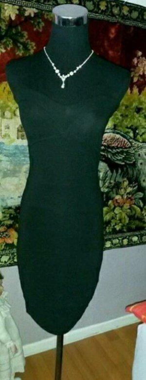 schönes schwarzes Minikleid gr.34
