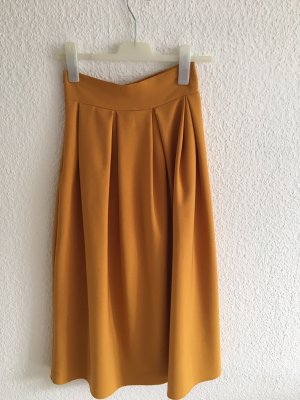Balloon Skirt gold orange