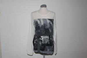 schönes Shirt mit Bluseneinsatz