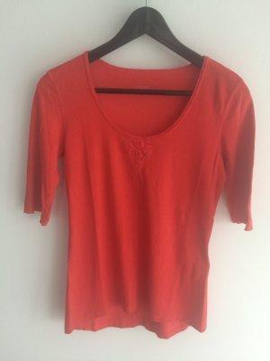Schönes Shirt von Marc Cain. Größe N3(38) rot/orange. Guter Zustand