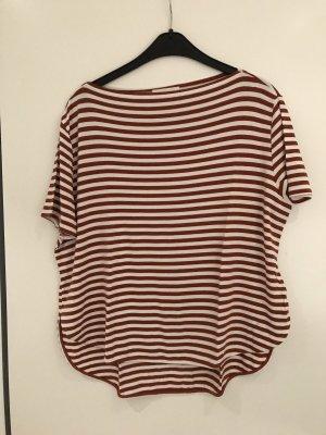 Vicolo Gestreept shirt room-bruin