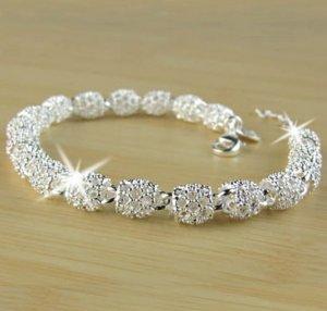 Bracelet gris clair