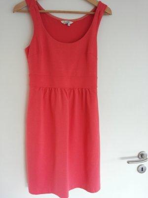 Boden Vestido de tela de jersey rojo-rosa