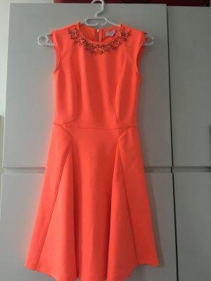 Schönes Sommer Kleid von Ted Baker mit Pailetten Kragen *NEU*