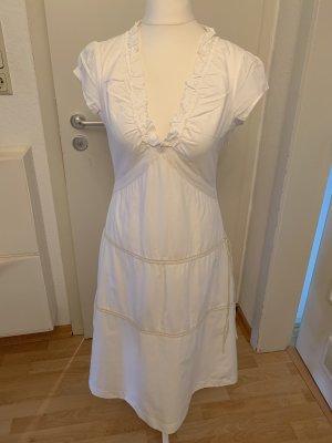 Object Vestido a media pierna blanco-blanco puro