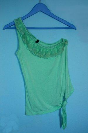 Schönes sommerliches Top in mintgrün