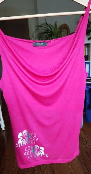 Conleys Cowl-Neck Top pink