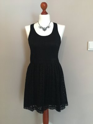Ann Christine Lace Dress black