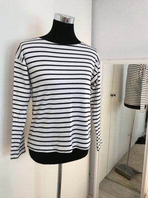 Schönes Streifen Shirt weiß schwarz
