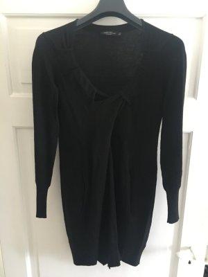 All Saints Gebreide jurk zwart Gemengd weefsel