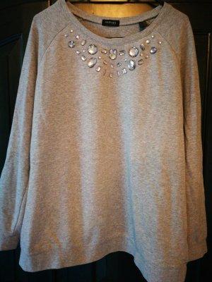 Schönes Sweatshirt - Gr. 44/46