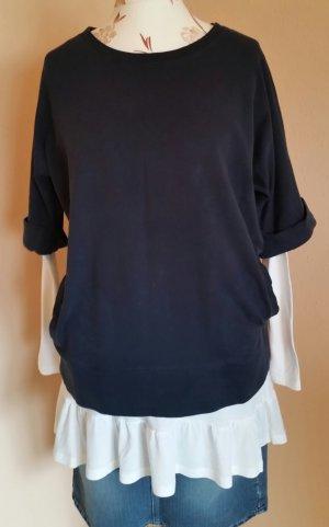 Schönes Sweatshirt mit 3/4 Ärmeln