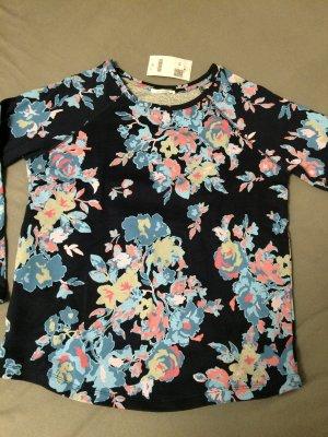 Schönes Sweatshirt Promod Größe M neu! Blumen