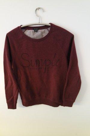 Schönes Sweatshirt / Pulli mit Schrift