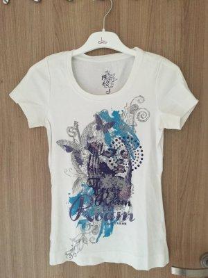 Schönes T-Shirt von der Marke Tom Tailor Casual, Größe S, schöner Aufdruck
